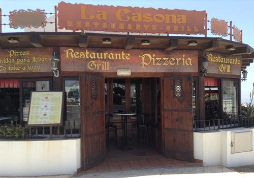 restaurant tagoror playa de santiago
